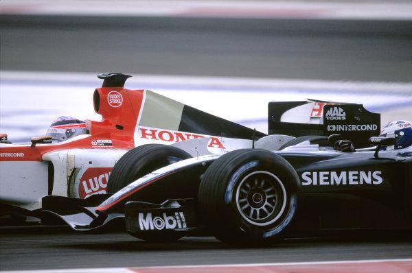 david coulthard formula 1 mclaren photos, sakhir