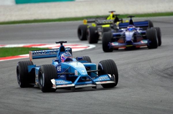 2001 Malaysian Grand Prix.Sepang, Kuala Lumpur, Malaysia. 16-18 March 2001.Jenson Button (Benetton B201 Renault). World Copyright - Steve Etherington/LAT Photographic.ref: 18mb Digital Image