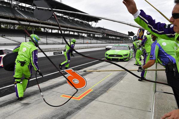 #6: Ryan Newman, Roush Fenway Racing, Ford Mustang Acorns
