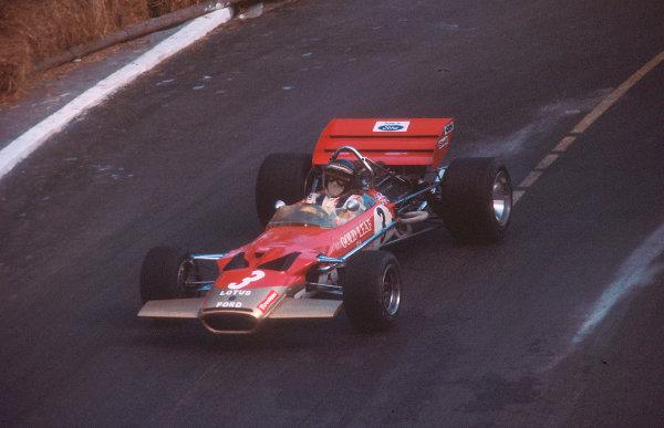 1970 Monaco Grand Prix.Monte Carlo, Monaco.7-10 May 1970.Jochen Rindt (Lotus 49C Ford) 1st position.Ref-70 MON 05.World Copyright - LAT Photographic