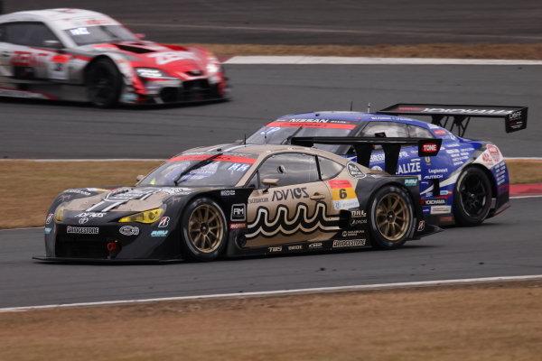 Ryohei Sakaguchi & Kazuto Kotaka ( #6 ADVICS muta Toyota MC86 ), 3rd in GT300