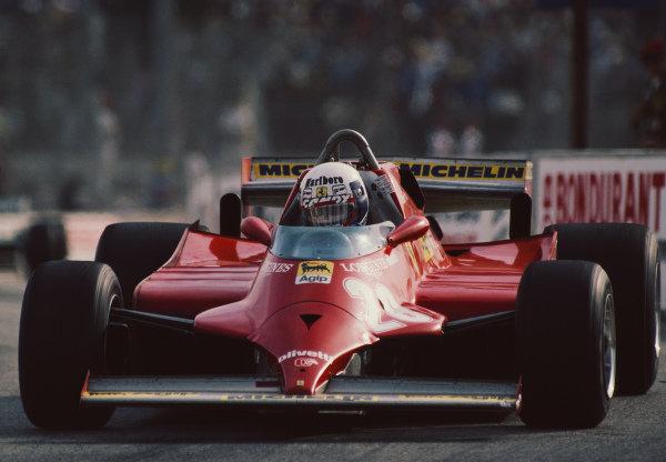 Didier Pironi, Ferrari 126CK.