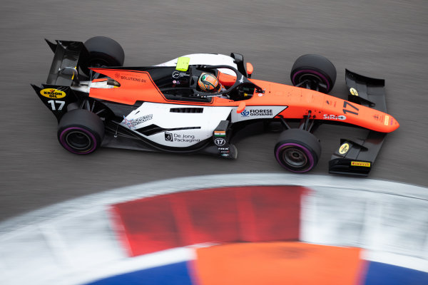 SOCHI AUTODROM, RUSSIAN FEDERATION - SEPTEMBER 27: Mahaveer Raghunathan (IND, MP MOTORSPORT) during the Sochi at Sochi Autodrom on September 27, 2019 in Sochi Autodrom, Russian Federation. (Photo by Joe Portlock / LAT Images / FIA F2 Championship)