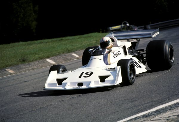 Alan Jones (AUS) Surtees TS19 finished in sixteenth position.Canadian Grand Prix, Rd14, Mosport Park, Canada, 3 October 1976.BEST IMAGE