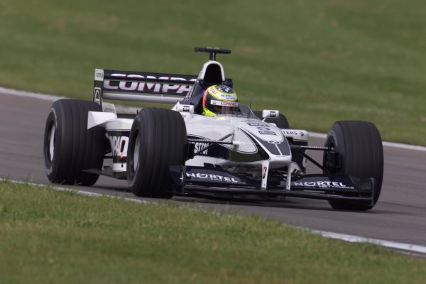 2000 European Grand Prix.Nurburgring, Germany.19-21 May 2000.Ralf Schumacher (Williams FW22 BMW).World Copyright - LAT Photographic