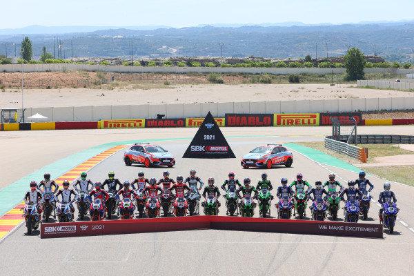 WorldSBK rider line up for 2021.
