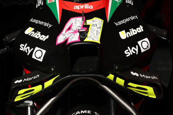 Aleix Espargaro, Aprilia Racing Team Gresini bike.
