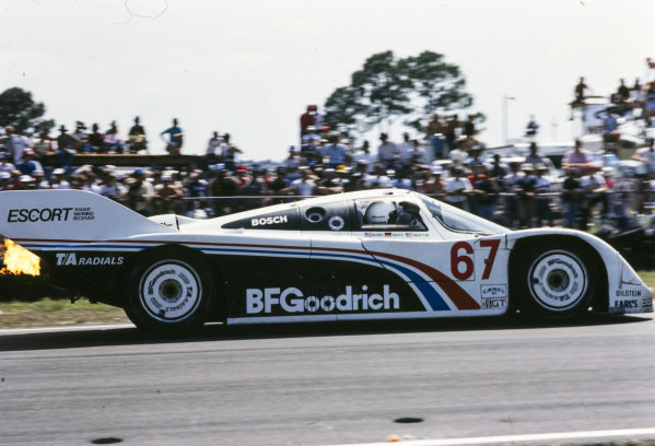Jim Busby / John Morton / Jochen Mass, Busby Racing, Porsche 962.