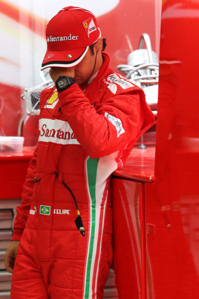 Felipe Massa (BRA) Ferrari. Formula One World Championship, Rd17, Indian Grand Prix, Buddh International Circuit, Greater Noida, New Delhi, India, Practice, Friday 26 October 2012.