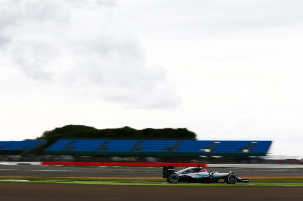 Silverstone, Northamptonshire, UK. Wednesday 13 July 2016. Esteban Ocon, test and developmemt driver, Mercedes F1 W07 Hybrid.  World Copyright: Zak Mauger/LAT Photographic ref: Digital Image _L0U8428