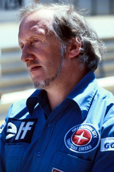 Maurice Phillipe(GBR) 1980designer for Lotus, Parnelli and Tyrrell