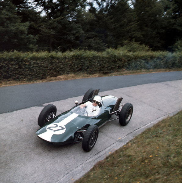Nurburgring, Germany.3-5 August 1962.Keith Greene (Gilby BRM).Ref-3/0614.World Copyright - LAT Photographic