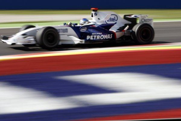 2007 Italian Grand Prix - Friday PracticeAutodromo di Monza, Monza, Italy.7th September 2007.Nick Heidfeld, BMW Sauber F1 07. Action. World Copyright: Lorenzo Bellanca/LAT Photographicref: Digital Image _64I5487