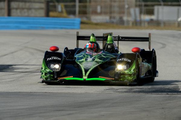 16-17 November, 2013, Sebring, Florida #2 Extreme Speed Motorsports HPD-ARX-03b driven by Ryan Dalziel, and Ed Brown. @2013 Richard Dole LAT Photo USA
