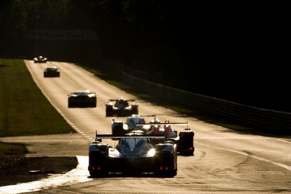 Circuit de La Sarthe, Le Mans, France.8th - 14th June 2009. Franck Montagny/Stephane Sarrazin/Sebastien Bourdais, No 8 Peugeot 908 HDi. Action. World Copyright: Drew Gibson/LAT Photographic Photographic Ref: _Y2Z9084 jpg