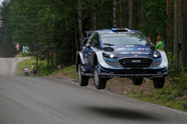 2017 FIA World Rally Championship, Round 09, Rally Finland / July 27 - 30, 2017, Ott Tanak, Ford WRC, Action  Worldwide Copyright: McKlein/LAT