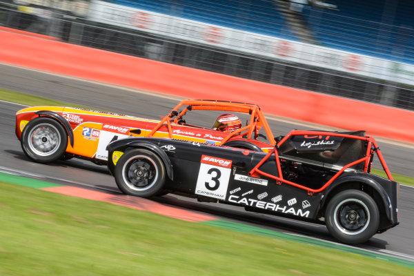2017 Avon Tyres Caterham Seven 420-R Championship, Silverstone, 11th-12th June 2017, John Byrne Caterham 420R. World copyright. JEP/LAT Images