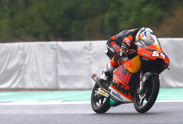 2017 Moto3 Championship  - Round 10 Brno, Czech Republic Friday 4 August 2017 Bo Bendsneyder, Red Bull KTM Ajo World Copyright: Gold and Goose / LAT Images ref: Digital Image 683734