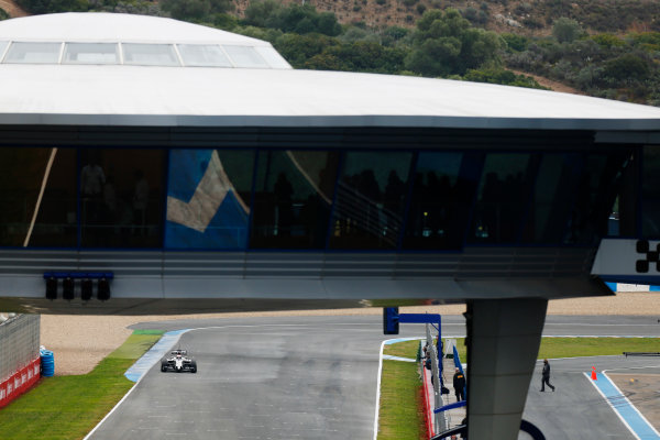 2014 F1 Pre Season Test 1 - Day 4 Circuito de Jerez, Jerez, Spain. Friday 31 January 2014. Kevin Magnussen, McLaren MP4-29 Mercedes. World Copyright: Andrew Ferraro/LAT Photographic. ref: Digital Image _79P7834.JPG