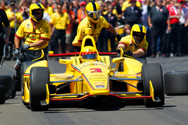 23  May, 2014, Indianapolis, Indiana, USA Helio Castroneves ?2014, Ernie Masche LAT Photo USA