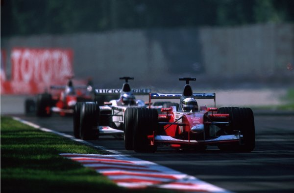 Allan McNish (GBR) Toyota TF102 was running in sixth place when a mechanical failure forced him to retire.