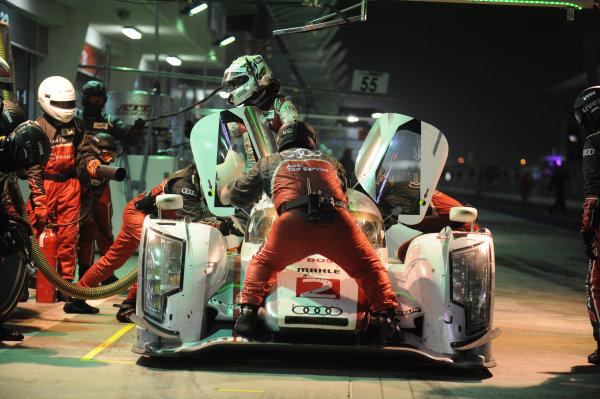 Bahrain, 27th-29th September 2012,Allan McNish/Tom Kristensen Audi Sport Team Joest Audi R18 E-Tron QuattroWorld copyright: Ebrey/LAT Photographic