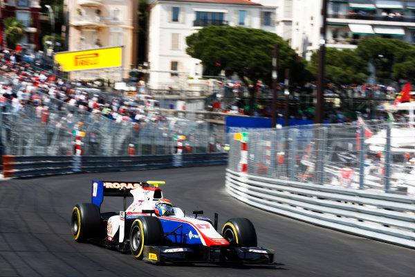 2017 FIA Formula 2 Round 3. Monte Carlo, Monaco. Saturday 27 May 2017. Sergio Canamasas (ESP, Trident)  Photo: Zak Mauger/FIA Formula 2. ref: Digital Image _X4I9542