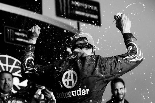 2017 Monster Energy NASCAR Cup Series - Fold of Honor QuikTrip 500 Atlanta Motor Speedway, Hampton, GA USA Sunday 5 March 2017 Brad Keselowski win and celebration World Copyright: Barry Cantrell/LAT Images ref: Digital Image 17ATLbc4958-2