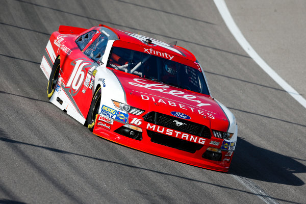 NASCAR XFINITY Series Kansas Lottery 300 Kansas Speedway, Kansas City, KS USA Friday 20 October 2017 Ryan Reed, Lilly Diabetes Ford Mustang World Copyright: Barry Cantrell LAT Images
