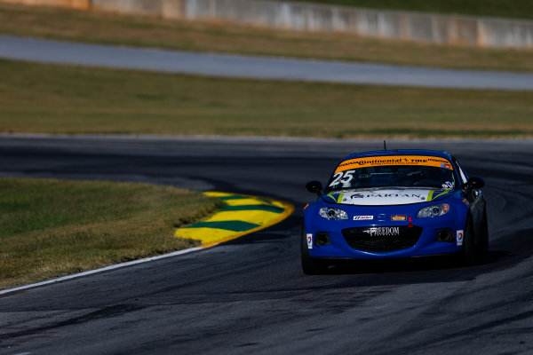 IMSA Continental Tire SportsCar Challenge Fox Factory 120 Road Atlanta, Braselton GA Thursday 5 October 2017 25, Mazda, Mazda MX-5, ST, Chad McCumbee, Stevan McAleer World Copyright: Jake Galstad LAT Images