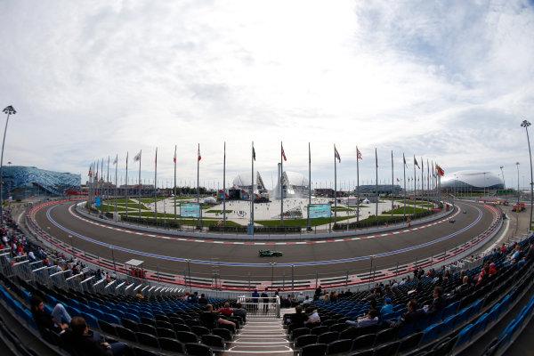 2015 GP3 Series Round 7. Sochi Autodrom, Sochi, Russia. Sunday 11 October 2015. Sandy Stuvik (THA, Status Grand Prix)  World Copyright: Zak Mauger/LAT Photographic ref: Digital Image _L0U9272