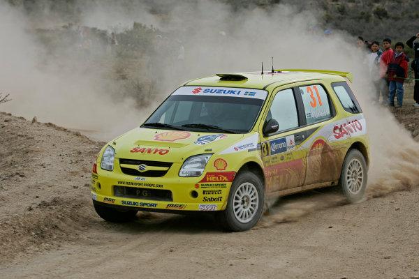 2005 FIA World Rally Champs. Round threeRally Mexico.10th - 13th March 2005.Per Gunnar Andersson, Suzuki, Action.World Copyright: McKlein/LAT