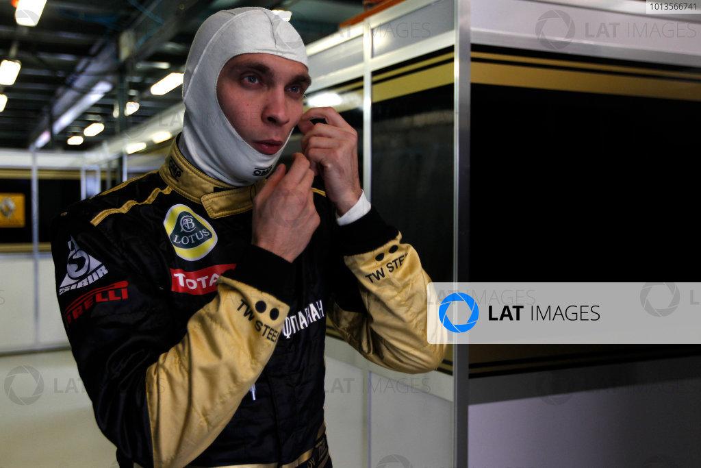 Albert Park, Melbourne, Australia 25th March 2011. Vitaly Petrov, Lotus Renault GP R31. Portrait.  World Copyright: Andrew Ferraro/LAT Photographic ref: Digital Image _Q0C8369