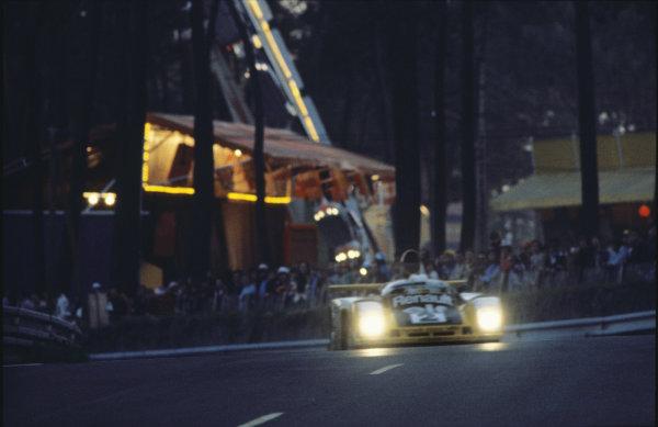 Le Mans, France. 10th - 11th June 1978.Jean-Pierre Jaussaud/Didier Pironi (Alpine-Renault A442B), 1st position, action. World Copyright: LAT PhotographicRef: 78LM27.