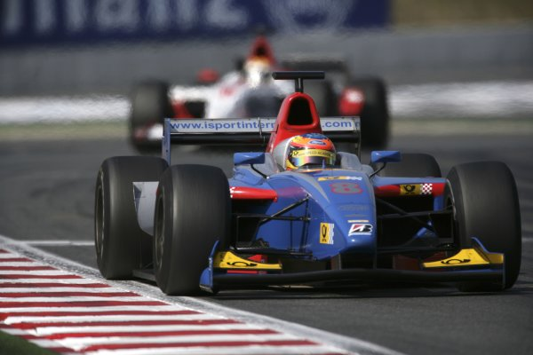 2006 GP2 Series. Round 7 . Magny-Cours, France. 16th July.Sunday Race Timo Glock (GER, iSport International). Action.  World Copyright: Charles CoatesGP2 Series Media Service. ref: Digital Image ZK5Y9434