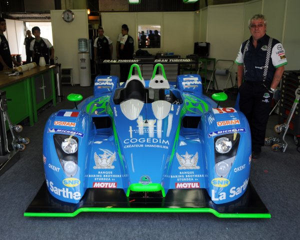 2008 Le Mans 24 Hours, Le Mans, France9th-15th JunePescarolo Sport Pescarolo Judd in GarageWorldwide copyright: Dave Friedman/LAT PhotographicRef; Digital Image Only