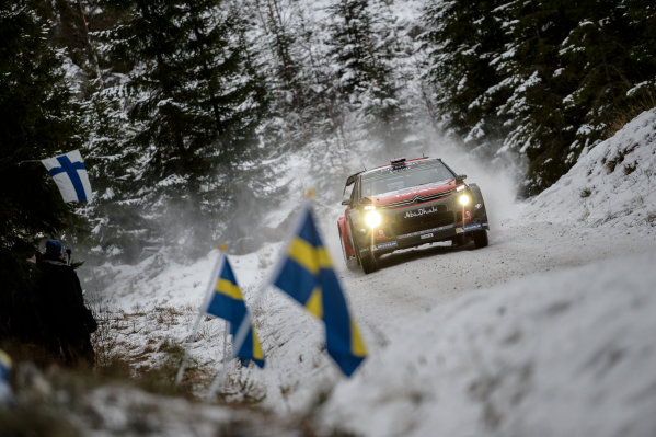 2017 FIA World Rally Championship, Round 02, Rally Sweden, February 09-12, 2017, Kris Meeke, Citroen, Action Worldwide Copyright: McKlein/LAT