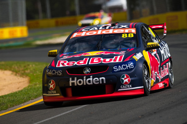 2017 Supercars Championship, Australian Grand Prix Support Race, Albert Park, Victoria, Australia. Thursday March 23rd to Sunday March 26th 2017. Jamie Whincup drives the #88 Red Bull Holden Racing Team Holden Commodore VF. World Copyright: Daniel Kalisz/LAT Images Ref: Digital Image 230217_VASCAUSGP_DKIMG_0369.JPG