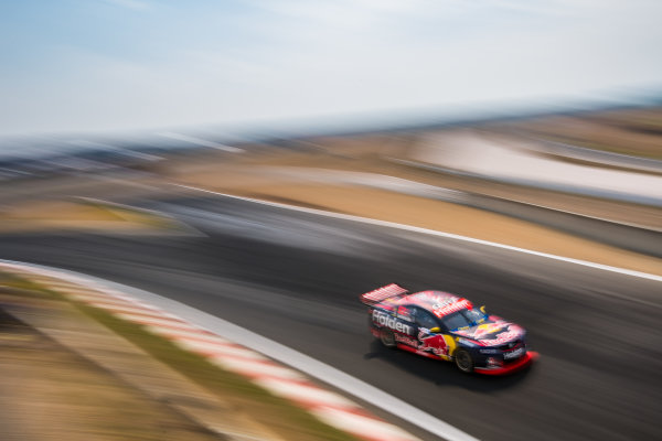 2017 Supercars Championship Round 2.  Tasmania SuperSprint, Simmons Plains Raceway, Tasmania, Australia. Friday April 7th to Sunday April 9th 2017. Shane Van Gisbergen drives the #97 Red Bull Holden Racing Team Holden Commodore VF. World Copyright: Daniel Kalisz/LAT Images Ref: Digital Image 070417_VASCR2_DKIMG_0427.JPG