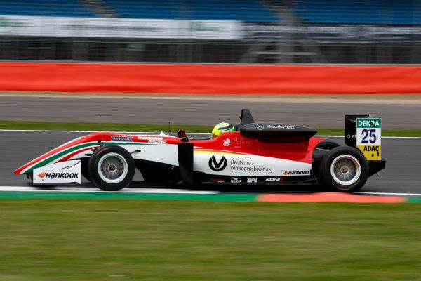 2017 FIA Formula 3 European Championship. Round 1 - Silverstone, UK. Thursday 13 April 2017. Mick Schumacher, Prema Powerteam, Dallara F317 - Mercedes-Benz World Copyright: Ebrey/LAT Images ref: Digital Image 2017_F3_Silvertone_Th1_05