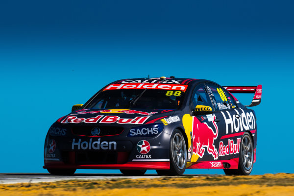 2017 Supercars Championship Round 4.  Perth SuperSprint, Barbagallo Raceway, Western Australia, Australia. Friday May 5th to Sunday May 7th 2017. Jamie Whincup drives the #88 Red Bull Holden Racing Team Holden Commodore VF. World Copyright: Daniel Kalisz/LAT Images Ref: Digital Image 050517_VASCR4_DKIMG_0689.JPG