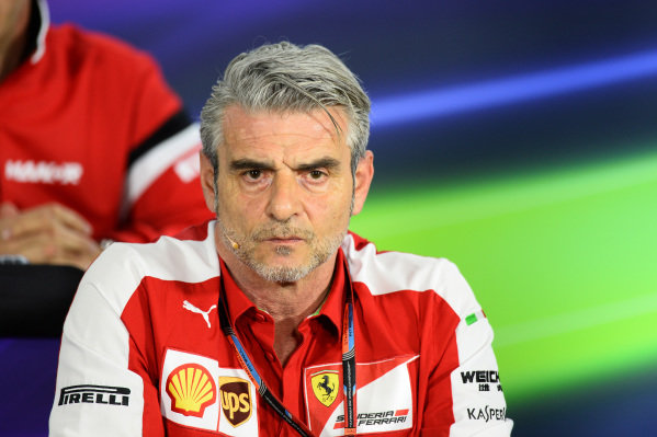 Maurizio Arrivabene (ITA) Ferrari Team Principal in the Press Conference at Formula One World Championship, Rd1, Australian Grand Prix, Practice, Albert Park, Melbourne, Australia, Friday 13 March 2015.