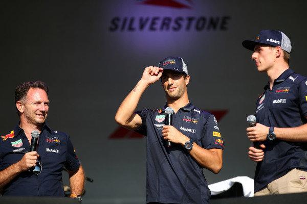 Max Verstappen, Red Bull-Renault and Daniel Ricciardo Red Bull-Renault