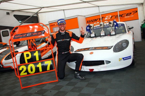 2017 Ginetta GT5 Challenge, Donington Park, Leicestershire. 23rd - 24th September 2017. Adrian Campbell Smith. World Copyright: JEP/LAT Images