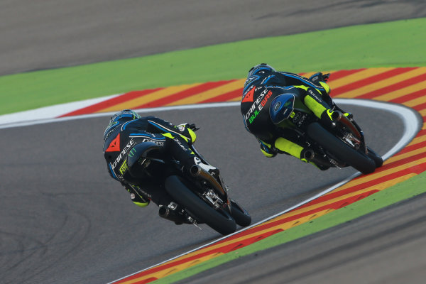 2017 Moto3 Championship - Round 14 Aragon, Spain. Saturday 23 September 2017 Nicolo Bulega, Sky Racing Team VR46, Foggia World Copyright: Gold and Goose / LAT Images ref: Digital Image 14004