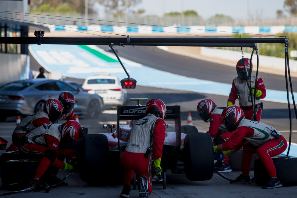 2017 FIA Formula 2 Round 10. Circuito de Jerez, Jerez, Spain. Sunday 8 October 2017. Antonio Fuoco (ITA, PREMA Racing).  Photo: Zak Mauger/FIA Formula 2. ref: Digital Image _X0W2764