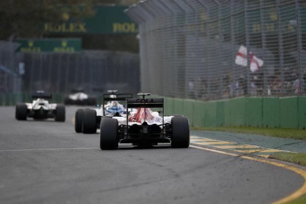 Carlos Sainz jr (ESP) Scuderia Toro Rosso STR11 at Formula One World Championship, Rd1, Australian Grand Prix, Race, Albert Park, Melbourne, Australia, Sunday 20 March 2016.
