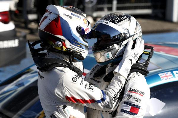 Marco Wittmann, BMW Team RMG, Gary Paffett, Mercedes-AMG Team HWA.