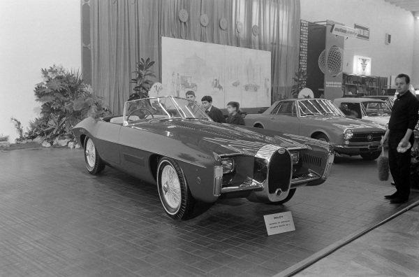Ghia/Exner Bugatti T57