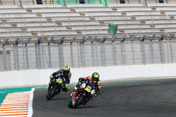 Cal Crutchlow, Team LCR Honda Valentino Rossi, Yamaha Factory Racing.